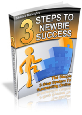 Product picture 3 Steps to Newbie Success - Make Money Online